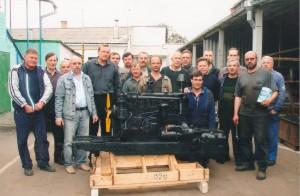2006г. Изготовление дизеля для Порошенко П.А